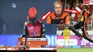 সাকিবের এমন বাজে আউটে বিরক্ত কোচ টম মুডি একি বললেন তিনি   Sunrisers Hyderabad vs Kings XI Punjab ipl