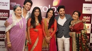 Sasural Simar Ka' team parties on completion of 1000 episodes the club