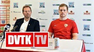 Az MK-döntő előtt | 2018. január 19. | DVTK TV