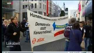 Lokalzeit  Köln   11 10 2014 No TTIP
