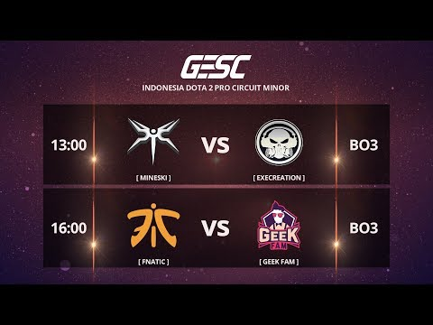 Xxx Mp4 FNATIC MY Vs GEEKFAM MY BO3 GESC Championship Jakarta Minor SEA Qualifier Day 1 3gp Sex