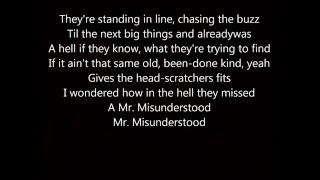 Eric Church Mr  Misunderstood Lyrics