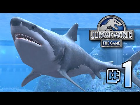 The Biggest Shark EVER Megalodon!! || Jurassic World - Lagoon Series - Ep 1 HD