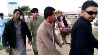 Sindh Agriculture University Tando Jam Students Dancing At kalar kahar lake.