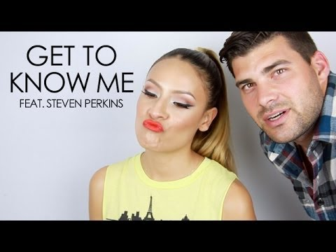 GET TO KNOW ME DESI PERKINS: feat. the hubby (Steven Perkins)