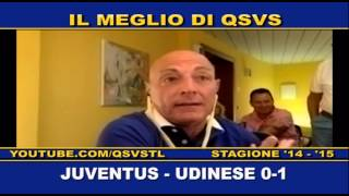 QSVS - I GOL DI JUVENTUS - UDINESE 0-1  - TELELOMBARDIA