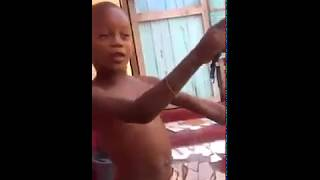 Jamaican Toddler Spit Wicked Freestyle