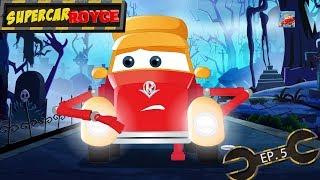 Supercar Royce | Car cartoons | Naughty car cartoons | Friendly ghost car cartoon