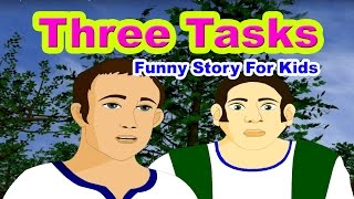 Three Tasks - Panchatantra Tales in English | Stories For Kids In English | Bedtime Stories