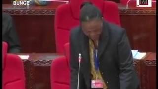 President Magufuli fires Minister Charles Kitwanga for being drunk in parliament session.