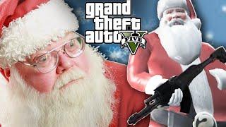 "Santa Plays As Santa In ""Grand Theft Auto V"""