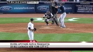 El panameño Mariano Rivera cambia el béisbol por el fútbol