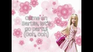 Barbie Girl - Aqua (Lyrics On Screen) HD