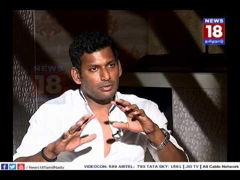 Xxx Mp4 Vellum Sol Interview With Vishal News18 Tamil Nadu 3gp Sex