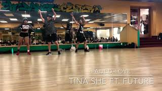 Dancing to Faded Love by Tinashe ft. Future