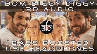 3D Audio | Bom Diggy Diggy | Bass Boosted | Zack Knight | Jasmin Walia | Virtual 3D Audio | HQ