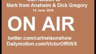 Mark Anaheim & Dick Gregory Talking On Orlando Incident, Elections & Organ Traffi-cking