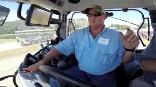 Tractor auto-steer demonstration