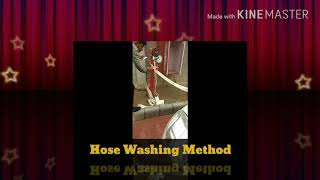 Hose Washing Method How To Working process Fire Safety field and Next Videos Properly Hose Reel Hose