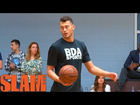 Stefan Jankovic 2016 NBA Draft Workout - 6'11 Smooth Shooter - 16NBACLH