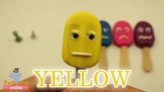 PlAy-DoH Rainbow Lollipop Smiley Faces Surprise With Toys Inside Elsa SpongeBob Minnie Mou