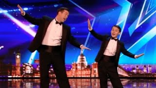 Father and Son Duo Tap Dance to the Next Round | Week 2 | Britain