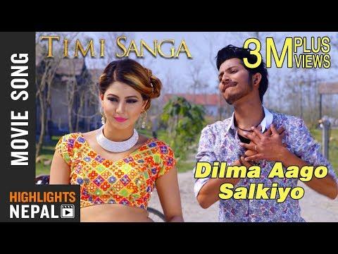 Xxx Mp4 Dilma Aago Salkiyo New Nepali Movie TIMI SANGA Song 2018 Ft Samragyee RL Shah Najir Husen 3gp Sex