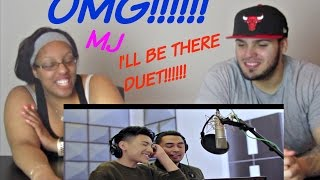 DARREN ESPANTO & JED MADELA | I'LL BE THERE REACTION!!!