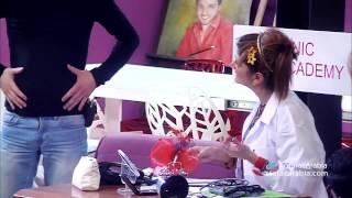 Report Doctor Betty - ريبورتاج الطبيبة بيتي توتل البرايم 13 من ستار اكاديمي 10