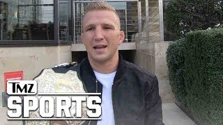 UFC's T.J. Dillashaw to Cody Garbrandt: Jean-Claude Van Damme Can't Help You! | TMZ Sports