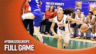 Spain v Italy - Full Game - Final - FIBA U20 Women's European Championship 2016