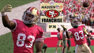 Madden NFL 17 San Francisco 49ers Franchise - EP26 (Year 2, Week 9 vs Rams)