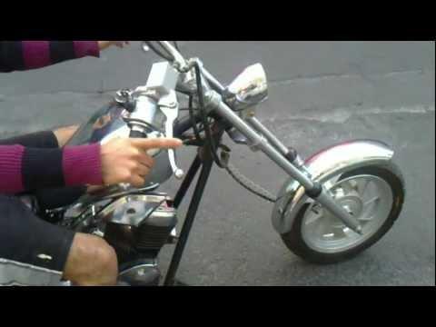 mini moto Chopper 50c.c.MP4
