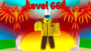 HITTING THE ULTIMATE LEVEL 666.. (Roblox Egg Hatching Simulator)