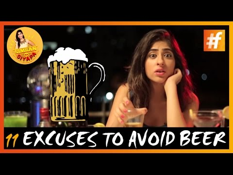 11 Stupid Reasons to Avoid beer   According to Indian Girls
