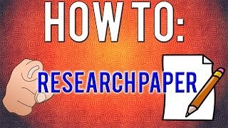 How To Write A Research Paper! (8 simple steps)