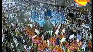 Beija-Flor de Nilópolis (1994) - Incêndio na última alegoria