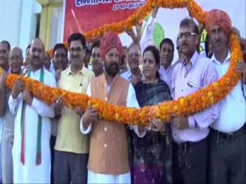 Ch. Lal Singh FOREST MINISTER J&K GOVT  welcome function AT  KATHUA