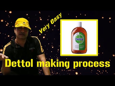 Dettol making process for business purpose. Dettol disinfectant making process.