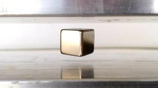 Induction Levitation, Levitating Neodymium Magnets
