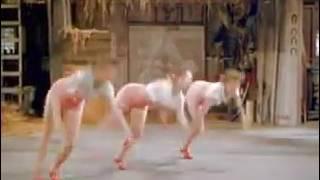 Interesting dance