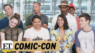 Comic Con 2017: 'Flash' Stars Dish on WestAllen Wedding Iris Becomes 'Leader' for Team Flash in S…