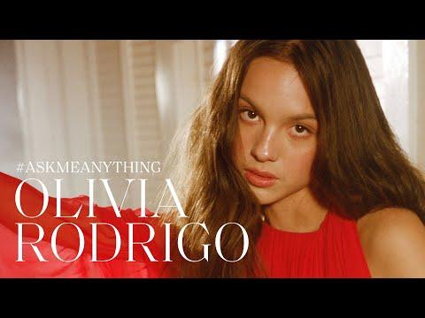 Olivia Rodrigo on Cardi B Feeling Powerful and Her Dream Role Ask Me Anything ELLE