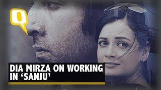 How Was Ranbir Kapoor on 'Sanju' Sets? Hear It From Dia Mirza | The Quint