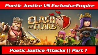 Poetic Justice VS ExclusiveEmpire    part 1