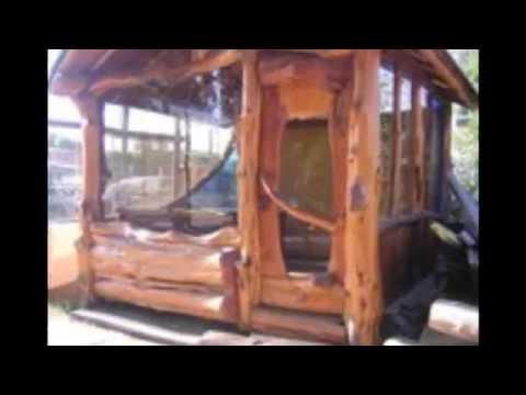 Muebles con troncos de rboles vidoemo emotional video - Muebles con troncos ...