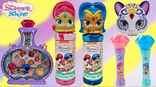 SHIMMER SHINE Set, Make-up Lip Gloss, Purse, Light Sound Microphone Sing Song IRL In Real Life  TUYC