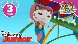 Sheriff Callie | Hot Air Ballon | Disney Junior UK