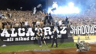 JUG EKSPLOZIJA !! GOOOL IDEMOOO..BRUTAL !!   144 derbi Partizan - Zvezda 18.05.2013.