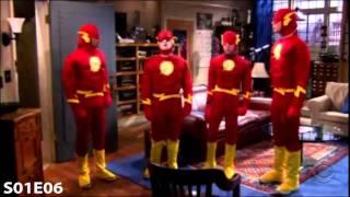 The Big Bang Theory Season 1 funny scenes part 1